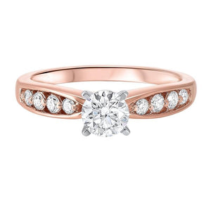 14kr prong bridal diamond ring 7/8ct, ejr1006-4wc