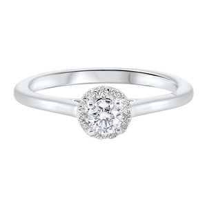 14kw c&c micro prong diamond ring 1/3ct, rg71533-4wd
