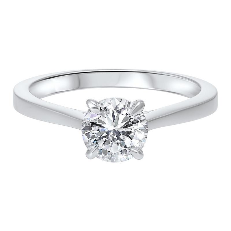 14kw solitaire prong diamond ring 1ct, hdcr005-4wd