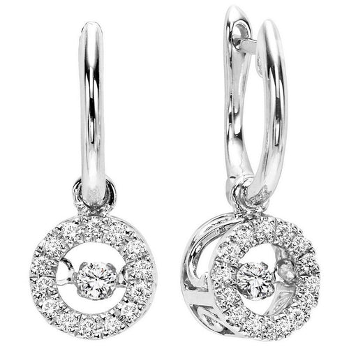 10kw rol prong diamond earrings 1/5ct, rg10059-1yd