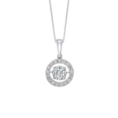 14kw rol halo prong diamond pendant 1 1/4ct, rg10059-1wd