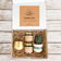 Gift Box | Succulent + Soy Candles + Gold Votive  | Choose Your Occasion