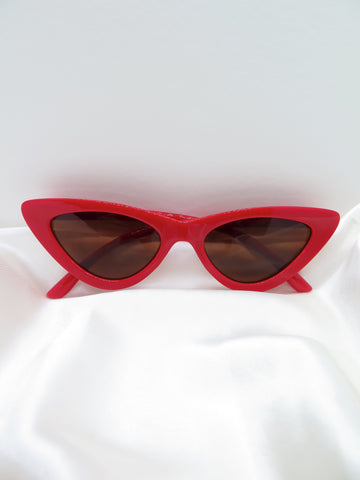 Red Feline Sunglasses