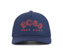 Load image into Gallery viewer, Men's Hugo Boss Embroidered Lettering Stitch Twill Cap Logo Adjustable Hat