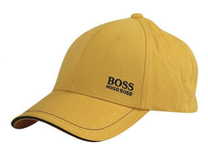 Men's Hugo Boss Twill Embroidered Logo Sports Cap Adjustable Strap Dad Hat