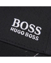 Load image into Gallery viewer, Hugo Boss Black Embroidered Logo Adjustable Strap Cotton Twill Baseball Cap Hat