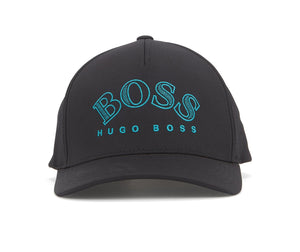 Men's Hugo Boss Embroidered Lettering Stitch Twill Cap Logo Adjustable Hat