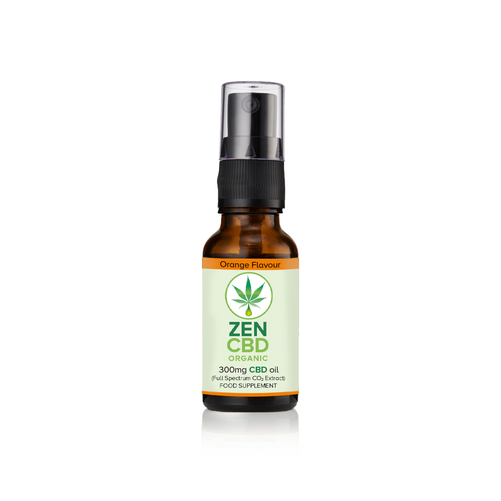 FLAVOURED ORGANIC CBD SPRAY