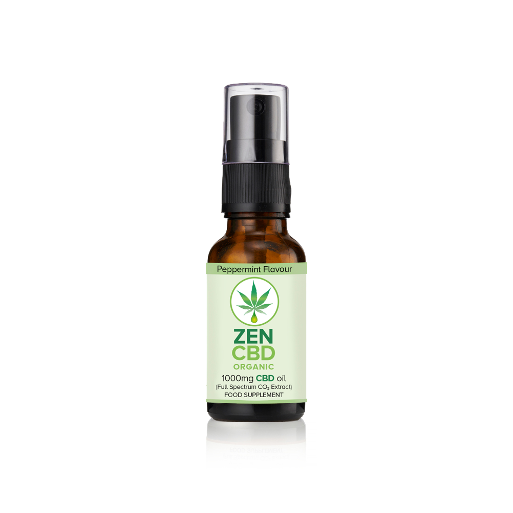 Flavoured CBD Spray Peppermint