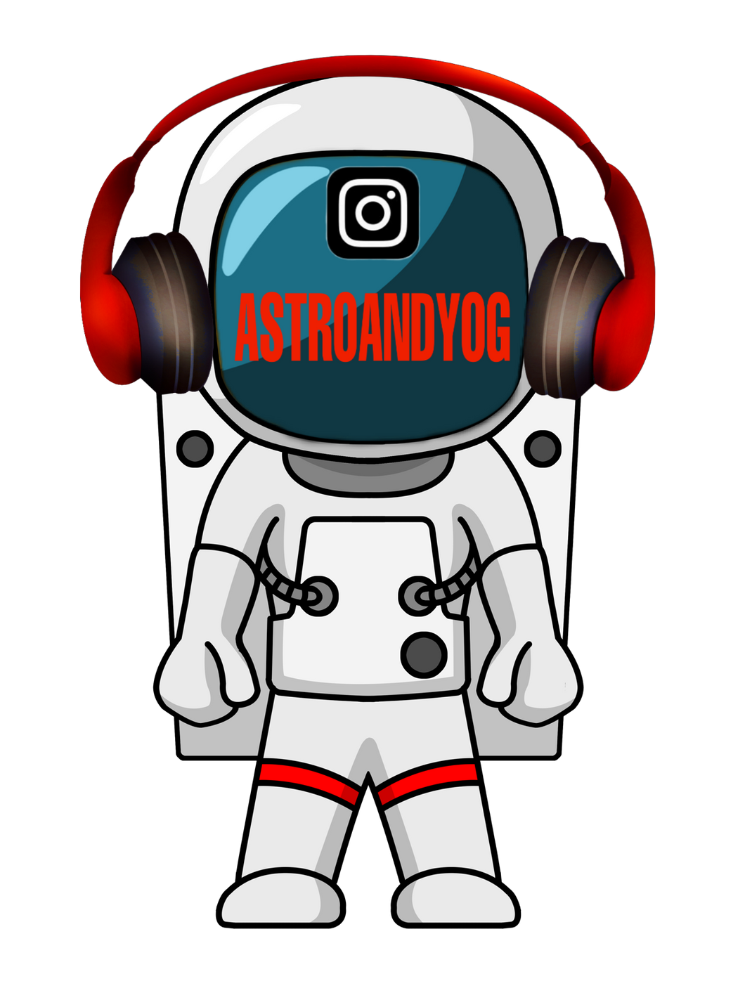 AstroAndyOG Stickers
