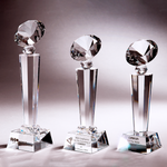 Crystal Trophy | C714 A/B/C - D One Crystal Award Trophy Malaysia
