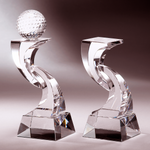 Crystal Trophy | C715 A/B - D One Crystal Award Trophy Malaysia