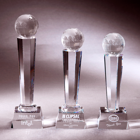 Crystal Trophy | C716 A/B/C - D One Crystal Award Trophy Malaysia