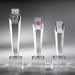 Crystal Trophy | C735 A/B/C - D One Crystal Award Trophy Malaysia