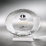Crystal Plaque | C744 - D One Crystal Award Trophy Malaysia