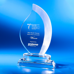 Crystal Plaque | C809 - D One Crystal Award Trophy Malaysia