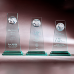 Glass Series | CA382 A/B/C - D One Crystal Award Trophy Malaysia