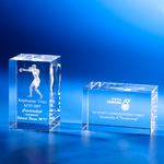 Crystal Gifts | CL-16 - D One Crystal Award Trophy Malaysia