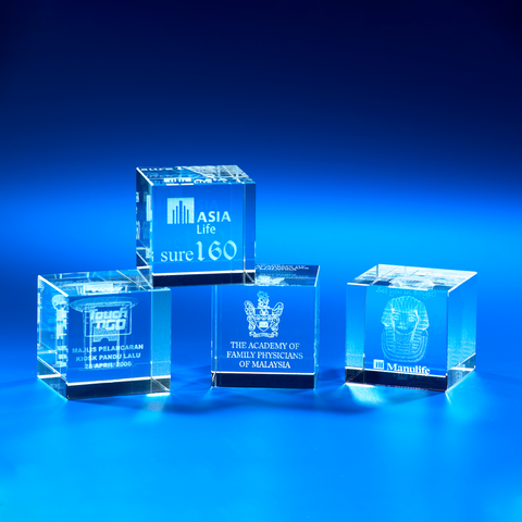 Crystal Gifts | CL-20 - D One Crystal Award Trophy Malaysia