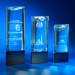 Crystal Trophy | CL-30 A/B/C - D One Crystal Award Trophy Malaysia