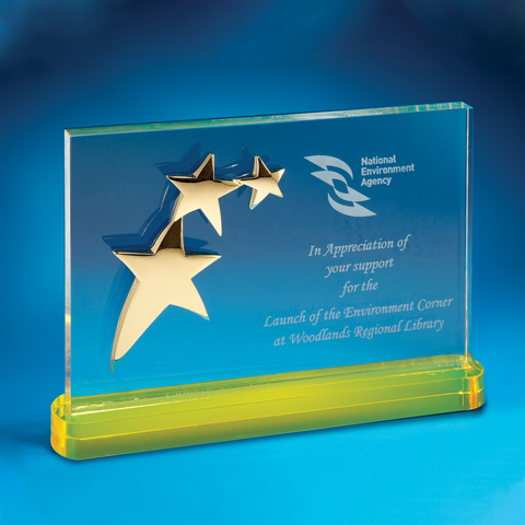 Star Award | CS919 - D One Crystal Award Trophy Malaysia