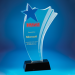 Star Award | CS921 - D One Crystal Award Trophy Malaysia