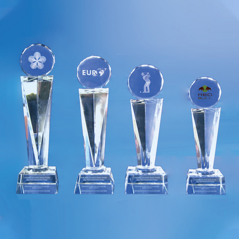 Crystal Trophy | D1011 A/B/C/D - D One Crystal Award Trophy Malaysia