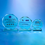 Glass Series | D1015 A/B/C - D One Crystal Award Trophy Malaysia