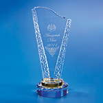 Crystal Trophy | D2002 - D One Crystal Award Trophy Malaysia
