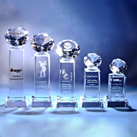 Crystal Trophy | D2010 A/B/C/D/E - D One Crystal Award Trophy Malaysia
