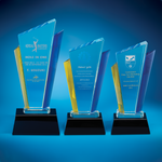 Crystal Trophy | D3013 A/B/C - D One Crystal Award Trophy Malaysia