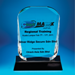 Crystal Plaque | D3032 - D One Crystal Award Trophy Malaysia