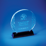 Crystal Plaque | D4029 - D One Crystal Award Trophy Malaysia