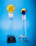 Crystal Trophy | D5001 A/B - D One Crystal Award Trophy Malaysia