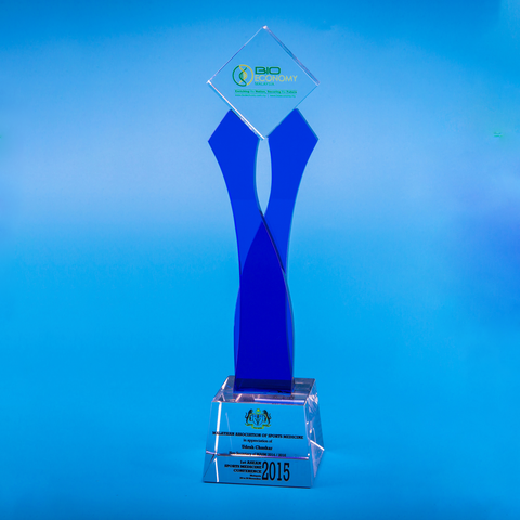 Crystal Trophy | D5004 - D One Crystal Award Trophy Malaysia
