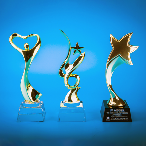 Crystal Trophy | D5013 A/B/C/D - D One Crystal Award Trophy Malaysia