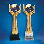 Crystal Trophy | D5030 A/B - D One Crystal Award Trophy Malaysia