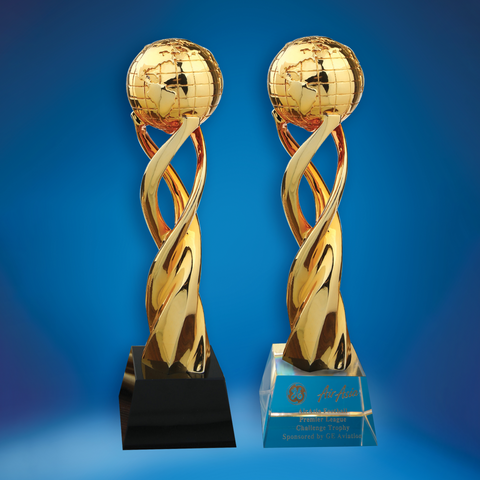 Crystal Trophy | D5031 A/B - D One Crystal Award Trophy Malaysia