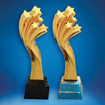 Crystal Trophy | D5034 A/B - D One Crystal Award Trophy Malaysia
