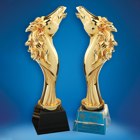 Crystal Trophy | D5037 A/B - D One Crystal Award Trophy Malaysia