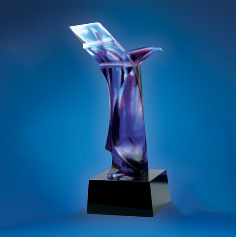 Liu Li Series | DLL-004 - D One Crystal Award Trophy Malaysia