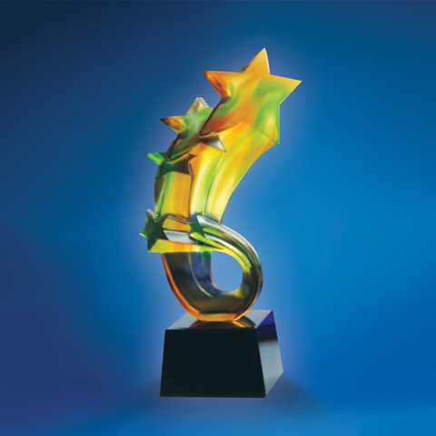 Liu Li Series | DLL-005 - D One Crystal Award Trophy Malaysia