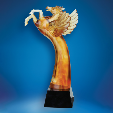 Liu Li Series | DLL-011 - D One Crystal Award Trophy Malaysia