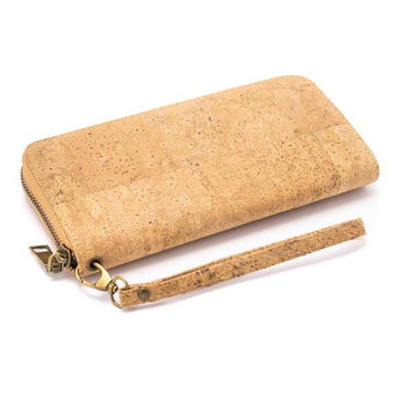 Aria Cork Purse Natural front