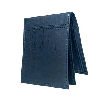 Cru Cork Wallet Black front