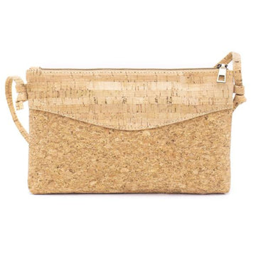 Jessa Cork Crossbody Bag Natural front