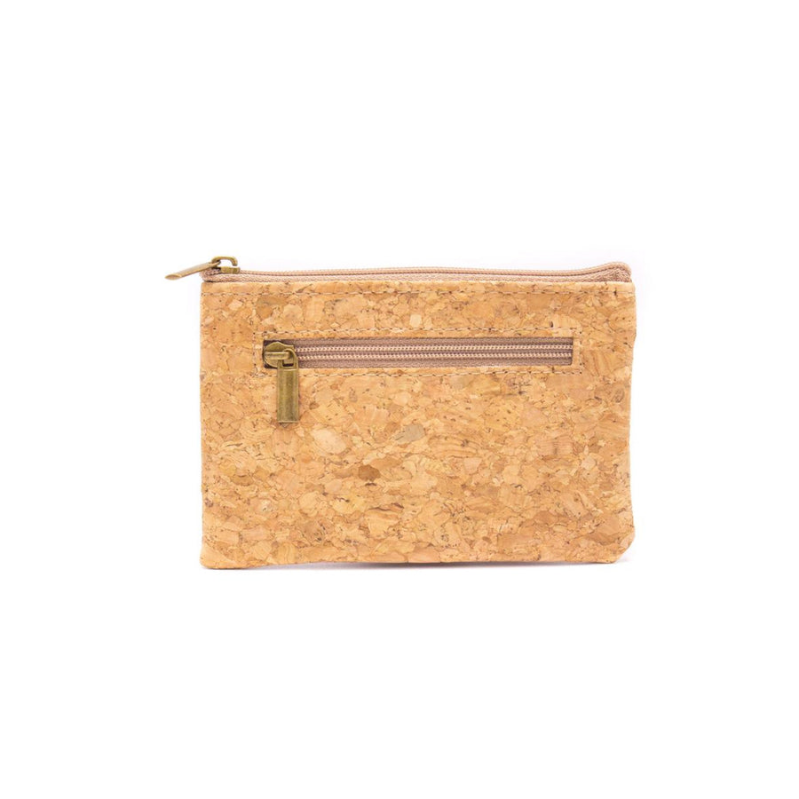 Primrose Cork Coin Purse with Cardholder back
