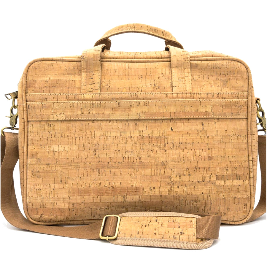 Quinn Cork Laptop Bag Pastel Geo back