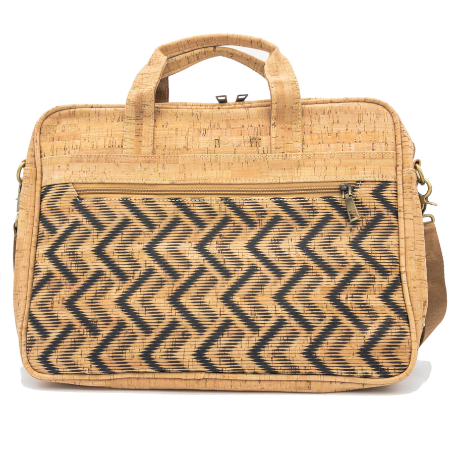 Quinn Cork Laptop Bag Monochrome front