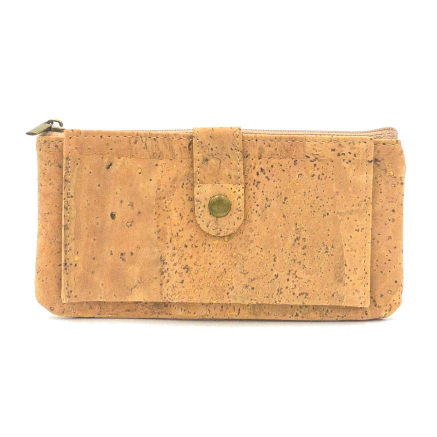 Skyla Cork Essentials Purse Natural front